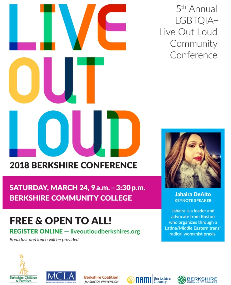 Poster - Live Out Loud Conference 2018